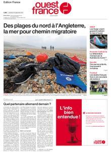 Ouest-France Édition France – 24 septembre 2021