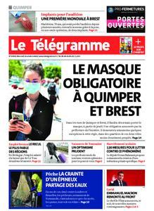 Le Télégramme Quimper – 14 octobre 2020