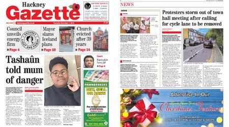 Hackney Gazette – November 07, 2019