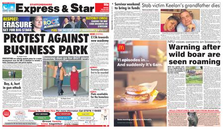 Express and Star Staffordshire Edition – April 20, 2019