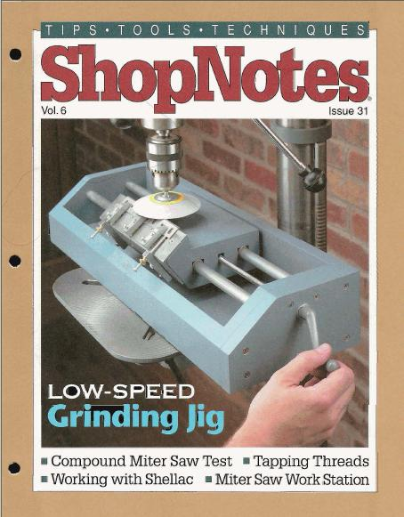 ShopNotes Issues 31-40