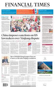 Financial Times Middle East - July 14, 2020