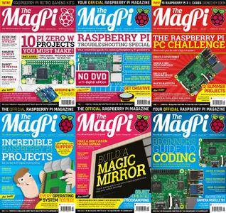 The MagPi 2017 Full Year Collection