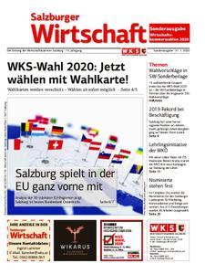 Salzburger Wirtschaft – 31. Januar 2020
