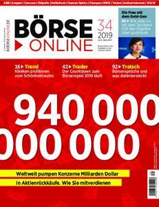 Börse Online – 22. August 2019