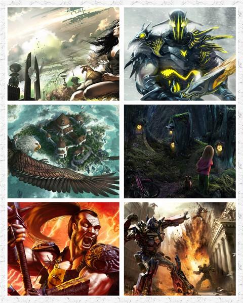 86 Fantasy HD Wallpaper