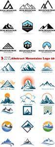 Vectors - Abstract Mountains Logo 20