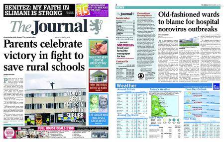 The Journal – April 25, 2018