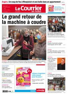 Le Courrier de l'Ouest Angers – 27 janvier 2021