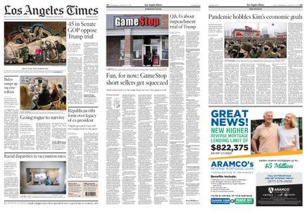 Los Angeles Times – January 27, 2021