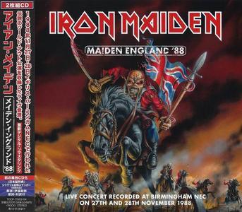 Iron Maiden - Maiden England '88 (2013) [Japanese Edition] (Repost)