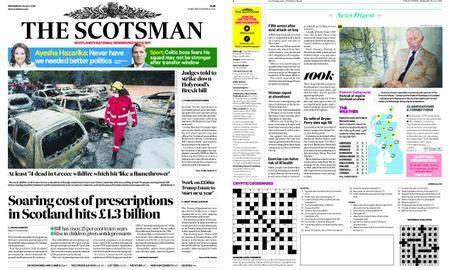 The Scotsman – July 25, 2018