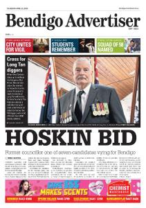 Bendigo Advertiser - April 25, 2019