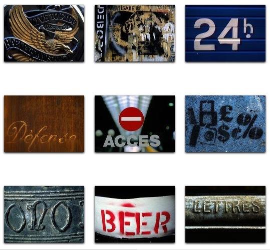 PhotoAlto Vol. 008 Urban Typography