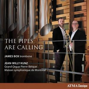 James Box & Jean-Willy Kunz - The Pipes are Calling (2019)