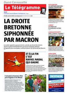 Le Télégramme Ouest Cornouaille – 10 juin 2019