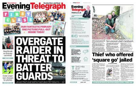 Evening Telegraph First Edition – September 18, 2018