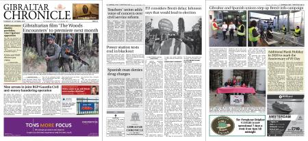 Gibraltar Chronicle – 24 October 2019