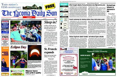 The Laconia Daily Sun – August 22, 2017