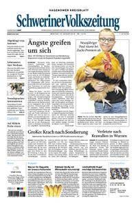 Schweriner Volkszeitung Hagenower Kreisblatt - 15. Januar 2018