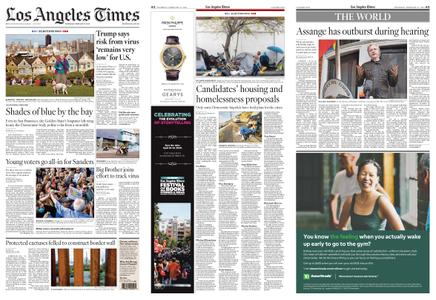 Los Angeles Times – February 27, 2020