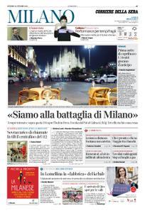 Corriere della Sera Milano – 23 ottobre 2020