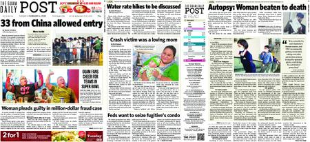 The Guam Daily Post – February 04, 2020