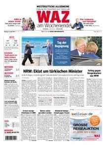 WAZ Westdeutsche Allgemeine Zeitung Oberhausen-Sterkrade - 28. April 2018