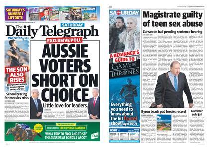 The Daily Telegraph (Sydney) – April 06, 2019
