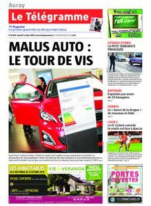 Le Télégramme Auray – 05 octobre 2019