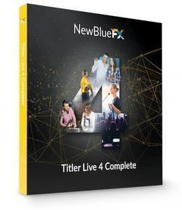 NewBlueFX Titler Live 4 Complete 4.0.190919