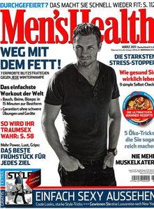 Men's Health No.3 - Marz 2011 / Germany