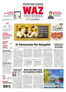 WAZ Westdeutsche Allgemeine Zeitung Oberhausen-Sterkrade - 02. Februar 2019