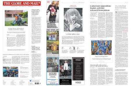 The Globe and Mail – October 07, 2019