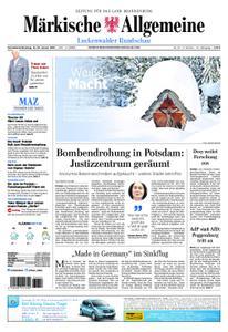 Märkische Allgemeine Luckenwalder Rundschau - 12. Januar 2019