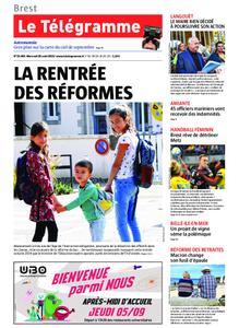 Le Télégramme Brest Abers Iroise – 28 août 2019
