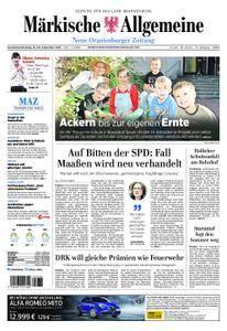 Neue Oranienburger Zeitung - 22. September 2018