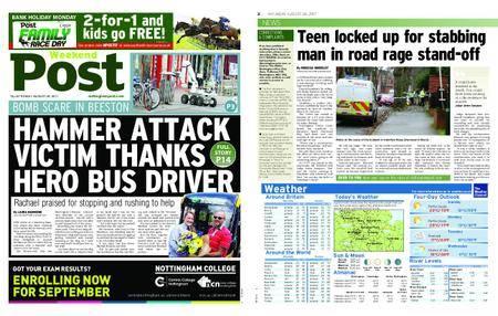 Nottingham Post – August 26, 2017
