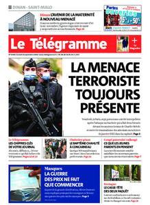 Le Télégramme Saint Malo – 26 septembre 2020
