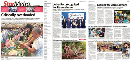 The Star Malaysia - Metro South & East – 20 May 2019