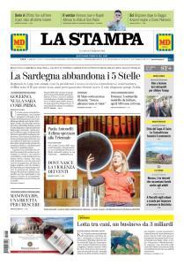 La Stampa Imperia e Sanremo - 25 Febbraio 2019