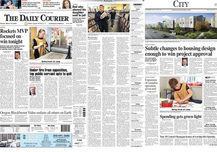 Kelowna Daily Courier – March 19, 2019