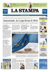 La Stampa Imperia e Sanremo - 20 Agosto 2018