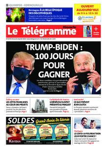 Le Télégramme Ouest Cornouaille – 26 juillet 2020