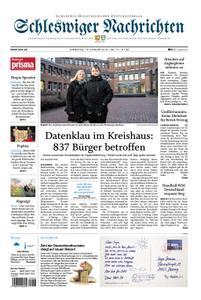 Schleswiger Nachrichten - 15. Januar 2019