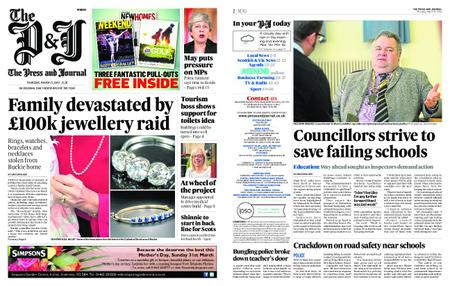 The Press and Journal Moray – March 21, 2019