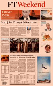Financial Times Europe – 18 January 2020