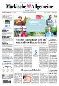 Märkische Allgemeine Dosse Kurier - 18. Oktober 2018