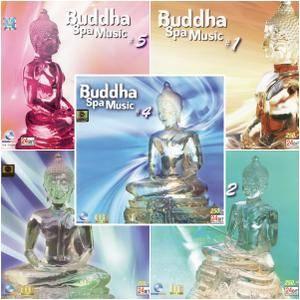 V.A. - Ocean Media - Series: Buddha Spa Music (5CDs, 2007)