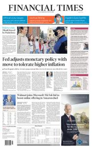 Financial Times Middle East - August 28, 2020